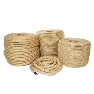 Jute Sisal Hemp Manila Twine Natural Cord Thick Rope 5 10 14 20 40 50 mm