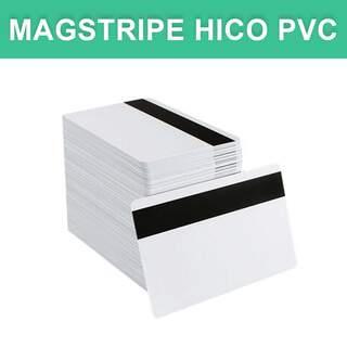 Magstripe HiCo PVC Magnetic Stripe CR80 Economy Card