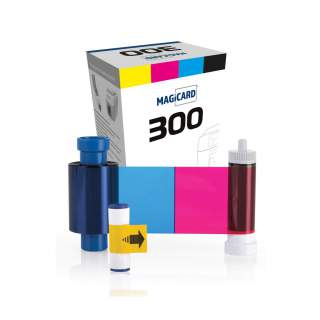 Magicard MC300YMCKO 300 Print Colour YMCKO Ribbon for Magicard 300 ID Card Printer