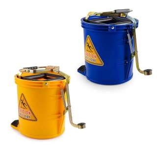 Pullman 16L Mop Bucket Roller Cleaning Wringer 16L Commercial Heavy Duty Castors