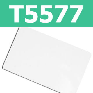 T5577 125KHz Writable Thin Proximity Cards