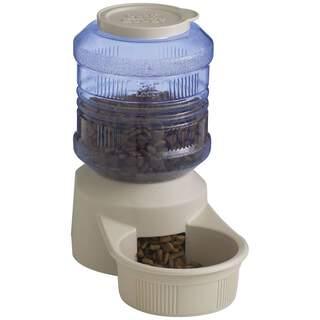 Dog Cat Pet Bowl Tower Water & Dry Food - 1.5kg