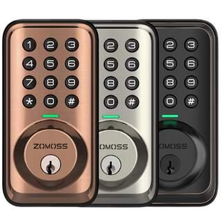 Zomoss Keyless Entry Door Lock Deadbolt - Digital Keypad with Key
