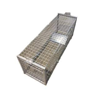 Large Heavy Duty Galvanised Steel Trap for Fox, Boar, Dog & Dingo