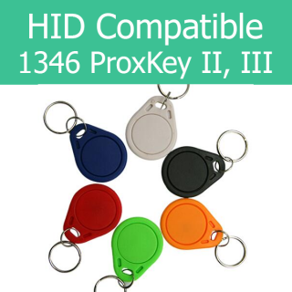 FastProx 1346: Works with HID ProxKey II & III 1346 Proximity Key Tag Fob