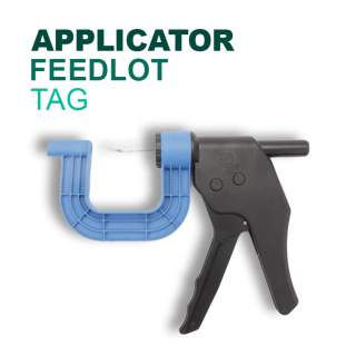 Leader Feedlot Tag Applicator