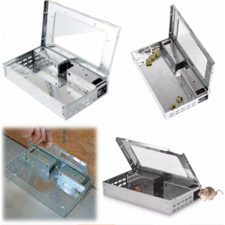 Multi Catch Metal Mouse Trap for Catching Live Mice