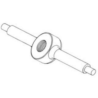 Cow Lifter Hip Clamp Vink Nut Left (Part Only)