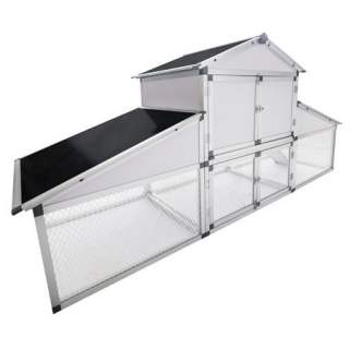 Bainbridge Chicken Coop - Aluminium Frame and Wire Mesh