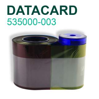 Datacard 535000-003 YMCKT 500 Print Colour Ribbon for CP40 CP60 CP80 CD800