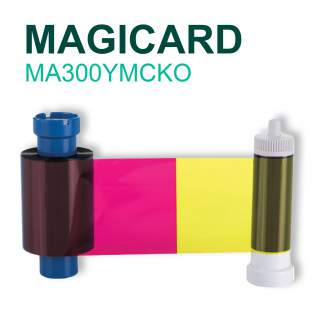 Magicard MA300YMCKO 300 Print Colour Ribbon for Pronto Enduro MC Rio