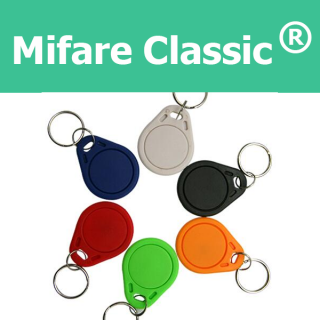 MIFARE Classic 1K S50 ISO 14443A 13.56 MHz Key Tag Fob