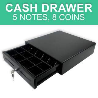Everything ID EC-410 Heavy Duty Electronic Cash Drawer - 5 Notes, 8 Coins, RJ11 RJ12 Connection