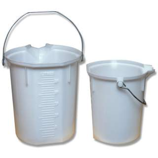 Bainbridge Plastic Chemical Measuring Bucket 15L 25L
