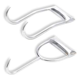 Leader Wool Hay Bale Hook - Single or Double Prong Shearing Equipment