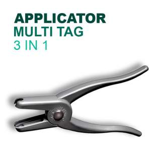 Leader Multi Tag Applicator 3 in 1 Sheep Ear Tagger