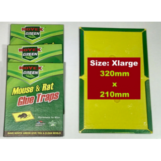 Mouse, Rat & Insect Sticky Glue Trap Extra Large Board Pad