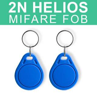 2N Helios Mifare RFID Key Fob 9134174 for 13.56Mhz Smart Card Reader