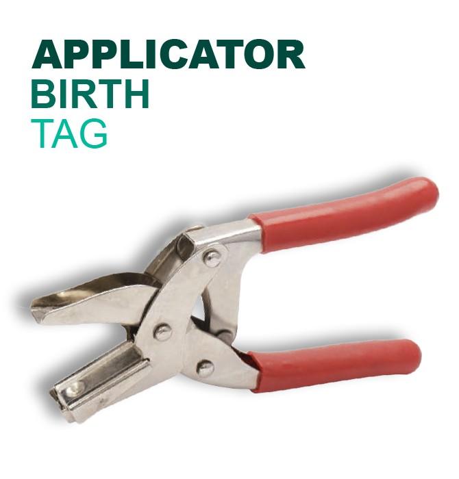 Leader Birth Tag Applicator